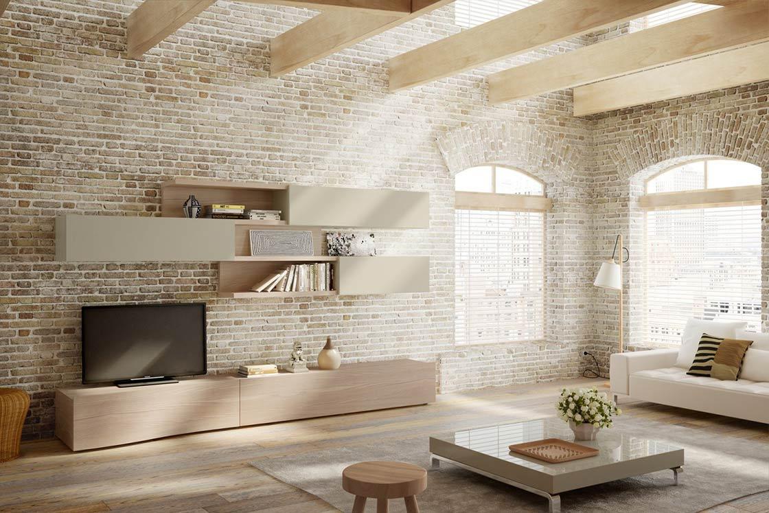 Arredamento Cucina Stile Nordico mobile-soggiorno-stile-nordico-napol-gislon - gislon arredamenti